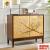 アメリカ式シュウズボックス純木は、ドアを開けて、多層装飾棚を入戸して、仕切りロッカーに新しい中国式の食器棚に、菱の格式のシャムボックスを完備しています。
