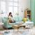 楠木日記ソファフファァァァ·フフフファァ·フファ·小部屋北欧シンプ現代三人居間賃貸住宅寝室ソファァァ·浅灰色(三人位)转角组みみ合わせて176 cm+足を踏む