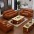 逸凱琳本革ソファァ头层牛革123组みみ合わせて、現代シンプロ中国人二人三人位のヨーロッパ式近代客間セットの大きさの部屋皮芸ソファオフィス9色(頭層本革)1+2+3組みあいます。