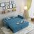 典尚はまだ両方に住んでいます。ソファ两用折りたたみ小部屋客間書斎ファブリック両用ソファ1.5メートル1.8メートル、ブルー1.4メートル、レギュラースポンジタイプです。