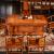 【家装祭聚恵】善匠良品紅木家具アフリカ花梨(学名:ハリネズミ紫檀)茶卓純木茶テ-ブル組みみみせせせせせせせせせせんとする工夫茶テ-ル单龙茶テ-ル