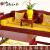 滑って氏の赤い木の家具の紫の酸っぱい枝/花の枝(学名:バーリの黄檀)の纯粋な木のソファの组み合わせます。