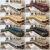 ジョレン公館ソファ輸入ヘッド層真牛革ソファ現代シンプ多機能大部屋組みあいわせ本革ソファ個性皮芸ソフフファの物音の中の厚い皮(色備考/カスタマイズコンサルティングカスタマー服)レギュレータ