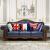 第一号豪庭ソファアメリカ纯木ソファ大部屋皮ソファ123组みみみみ合わせて、ファブリックソファリビング家具2人乗りの上质なワックス