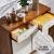 アメリカーノの軽すぎる貝殻シューボンズの木の後に近代的な家具はステンレスの玄関の戸棚の客間の食事の辺の戸棚の貝殻の4つの戸棚に入ります。