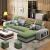 曲巧フフフフフフフフフフフフファ取リ外し可能シン现代ソファァァ大部分屋ソファリビングの家具をセットしたカウソソソファ三位+足(长さ2.55メートル送り椅子)深灰色