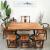 碧芯純木茶テーブルセットみあわせ功夫茶台新中国式センステーブル両用茶漬けテーブル120*60*75茶テーブル
