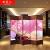欧米人间仕切り仕切り中国式リビングルームの纯木现代シンプレルホテルのオフィスの折り畳み式移动草刈间仕切りカーテンの折りたたみ式スクリーンの模様C一枚の幅は50 cm X 200 cmの高片面の模様です。